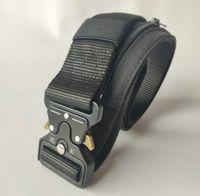 Designer Hohe Qualität Hidden Money Nylon Taktische Gürtel Männer Multifunktionale Reißverschluss Brieftasche im Freien Taktische Brieftasche Gürtel