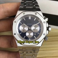 7 Color 41mm Royal 26331ST. OO. 1220ST. 01 Blue Dial White Subd...