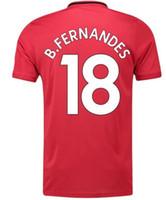 7 كافاني 21 10 راشفورد 18 b.fernandes 34 فان دي بيك لكرة القدم الفانيلة مخصص 2020 أعلى جودة التايلاندية تخصيص الفانيلة شخصية