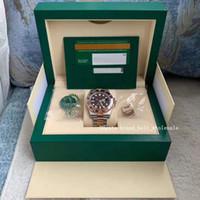 Comedor recomiendo asia 2813 40 mm Cerámica Caja de acero de oro de 18 quilates / certificado 126711 CHNR Reloj de oro de acero automático Reloj de oro Fecha masculina