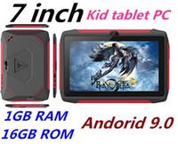 أحدث طفل اللوحي Q98 رباعية النواة 7 بوصة 1024 * 600 HD شاشة الروبوت 9.0 AllWinner لA50 الحقيقي Q8 1GB RAM 16GB مع بلوتوث واي فاي بالجملة