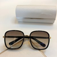 Elva Luxury Designer Óculos Brilhante Chip Placa encanto do quadro Top Quality Anti-UV Lens Espelho Popular Glasse removível Com Box