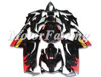 Moldeo por inyección de nuevo ABS llena de la motocicleta kit del carenado en forma para el Aprilia RS125 125 2006 2007 08 09 10 2011 RS4 carrocería conjunto personalizado Negro