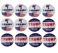 Trump Buttons Pins Keep America gran broche de la novedad del regalo de pernos de la insignia para la ropa de los pantalones vaqueros Sombrero decoración del bolso de 2020 Elección Presidencial Campai