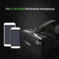 Casque VR Capacete Virtual Reality Óculos 3 D Óculos de Óculos 3D com fone de ouvido para iPhone Android Smartphone Smart Phone Stereo