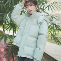 Hooded Thick Down Cotton Autumn Winter Jacket Women Jaqueta ...