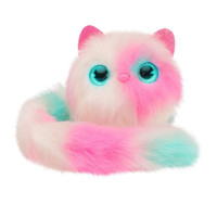 Überraschen Sie Katze Plüschtiere interaktive Brithday Geschenk Spielzeug für Kinder Spielzeug Kawaii Katze Fox Stofftiere Haustiere mit Sound-Reaktion