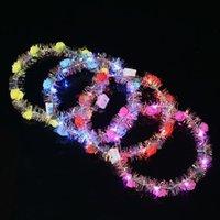 2019 نماذج انفجار الصمام مضيئة الذهب الحرير اكليلا من الزهور الإناث عقال اليابانية والكورية الروطان غطاء الرأس المنظرية لبيع اللعب الساخنة