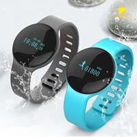 Nuovi H8 intelligente Braccialetto Bluetooth Braccialetti sonno Tracker Sport Watch Pedometro Calorie Recoder per l'orologio intelligente iPhone IOS Android