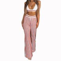 Женские брюки для женщин Hashupha 2021 поступления поступления женщин наборы вечерняя вечеринка красный набор зимний с длинным рукавом V-образным вырезом