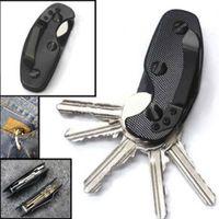 2018 новый горячий полезный держатель ключа алюминиевый зажим инструмент организатор брелок EDC папка мода брелок для ключей