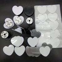 연인 휴대 전화 손가락 빈 알루미늄 승화 삽입과 홀더 및 사용자 지정 전화 그립을위한 접착제 마운트 홀더 브래킷 스탠드