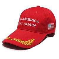 2020 Trump Nakış Ball Cap Makyaj Amerika Büyük Yine Beyzbol Trucker Cap Yaz Casquette Mesh Siperlik Snapbacks at kuyruğu Şapka A41205 Caps