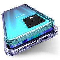 Cantos de almofada de ar cantos transparentes transparentes ultra macio tpu capa de silicone case para samsung galaxy s21 plus fe nota 20 ultra a02s a02 a12 a22 a32 a42 a52 a72 a82