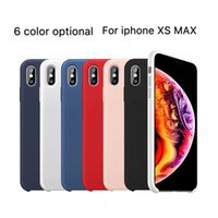 For Iphone XS MAX XR XS 8plus 7plus Liquid Resistant Silicon...