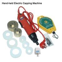 Garrafa de torque Grande tampando máquina portátil Wearable garrafas de vedação elétrica e embalagens cap equipamentos tightener 5-50mm