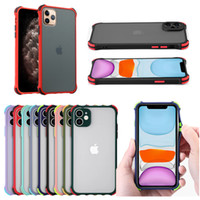 Armor Shockproof Matte Hard PC Back Cover For Iphone 12 11 P...