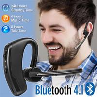 Auricolare stereo per cuffie di alta qualità CSR4.2 Auricolari stereo professionali con microfono Auricolare universale senza fili con confezione