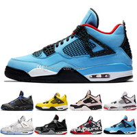 2019 Bred 4 Basketball Shoes 4s Cool Grey Mushroom Neon Wing...