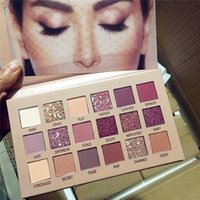 Marca Beleza 18Color Nude Naughty Eye Shadow Palette Maquiagem 18 cores Sombra Matte Drop Ship 1 Pcs