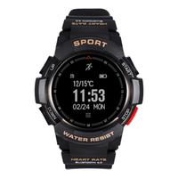 F6 Smart Watch IP68 wasserdichte Bluetooth Dynamische Passometer Smart-Armband Herzfrequenz-Monitor-Kamera Smart-Armbanduhr für Android IOS iPhone