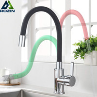Green Black Pipe Kitchen Faucets Hot And Cold Water Faucets ...