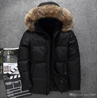 New The North Winter Men Jacket Parka Super light Warm Goose...