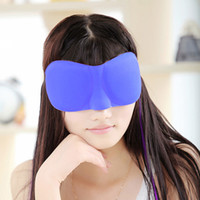 Dropshipping 3D Schlaf schnell Maske Schlafaugenmaske eyeshade Abdeckung Shade Flecken Frauen Männer weiche bewegliche Blindfold Reisen slaapmasker