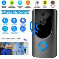 Smart IP Interphone vidéo WI-FI Vidéo Porte Téléphone Porte Cloche WIFI Sonnette Caméra Pour Appartements IR Alarme Sans Fil Caméra De Sécurité