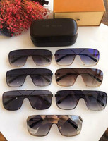 nova medusa de luxo estilo óculos de sol metade sol mulheres homens quadro designer de marca proteção UV óculos de lente transparente com caixa