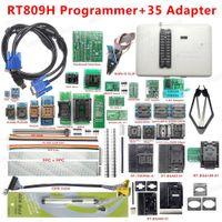 Freeshipping 원래 새로운 RT809H EMMC-NAND FAST FAST Universal Programmer +35 어댑터 + BGA63 + BGA64 + BGA169 어댑터 EMMC-NAND 무료 배송