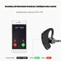 V8s Business Bluetooth auriculares auriculares inalámbricos Auriculares Coche V4.1 Teléfono Microsofree Mic Music para iPhone Xiaomi Samsung