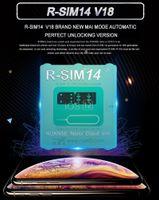 R-sim 14 v18 v18 نسخة r sim14 rsim14 rsim for iphone 11 xs max 8 7 ios12.x ios12.x Uccid Unlocking SIM فتح بطاقة R-SIM14