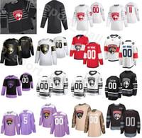 Florida Panthers 2020 All Star Jersey Buz Hokeyi Erkekler 11 Jonathan Huberdeau 16 Aleksander rkov 72 Sergei Bobrovsky 63 Evgenii Dadonov