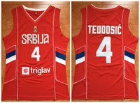 4 Milos Teodosic Team Serbia Retro Classic Basketball Jersey Mens Stitched  Custom Number and name Jerseys 5ed10d32f