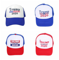 Trump 2020 Hat Keep America Great Again Cappellino da baseball Outdoor Donald Trump 2020 Cappellino da baseball LJJO6613