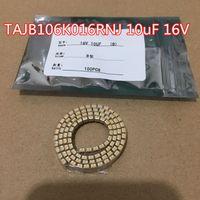 100 sztuk / partia Tantal kondensator TAJB106K016RNJ 10UF 16V ± 10% Typ B SMD