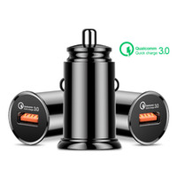Quick Charge 3. 0 USB Car Charger For iPhone Huawei Superchar...