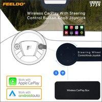 FEELDO Wireless Carplay с рулевым управлением кнопкой ручки джойстик для автомобильной Android System Headunit Player Player # 3739