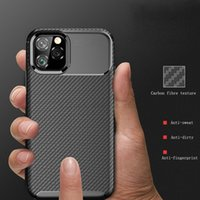 For iPhone 11 Case The new carbon fiber TPU grinding phone s...