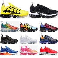 Wholesale Running shoes for mens PURE PLATINUM Rainbow Red C...