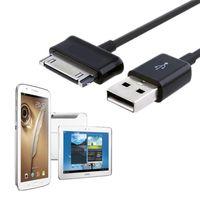 1M USB Data Charger-kabel voor Samsung Galaxy Tab P1000 P3100 voor Samsung Moelibel Telefoon Tablet Data Kabels