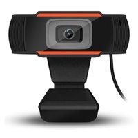 HD 웹캠 480p 720P 1080P USB 카메라 회전식 비디오 녹화 웹 PC 컴퓨터 + 소매 상자를위한 마이크가있는 웹