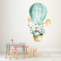 Y Wall Sticker Home Hot Air Balloon Wall Sticker Living Room...