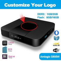 Customize Your Logo Amlogic S905W Android 8. 1 OTT TV Box 2GB...