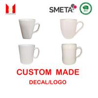 Gute Qualität Kundenspezifische Logo Tassen Geschenk Porzellan Dessert Kekse Cup Kaffeetassen Becher Für Milch Starbucks 14 Unzen
