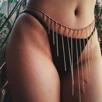 Collana Boemia nappa lunga vita per i fascini della collana di Summer Body Women Sexy Vintage femminile Bikini Beach Jewelry
