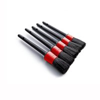 5pcs Car Detailing Brush Auto Cleaning Set Dashboard Air Outlet Tools Wash External Accessories Narzedzia Do Demontazu Samochodu