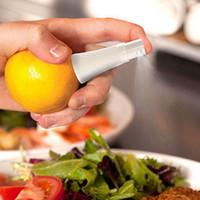 Limon karpuz Suyu Püskürtücü ücretsiz kargo Narenciye beyaz 9.5 cm Sprey El Meyve Sıkacağı Oyucu Mutfak pişirme Araçları