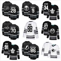 Fleury 2019 ALL Star Game 87 90 Ryan OReilly 31 Carey Price 9 Taylor Hall 28 Claude Giroux Johnny Gaudreau David Pastrnak Hockey Jersey Hombres